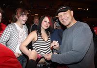Der Boxer Axel Schulz mit Gästen