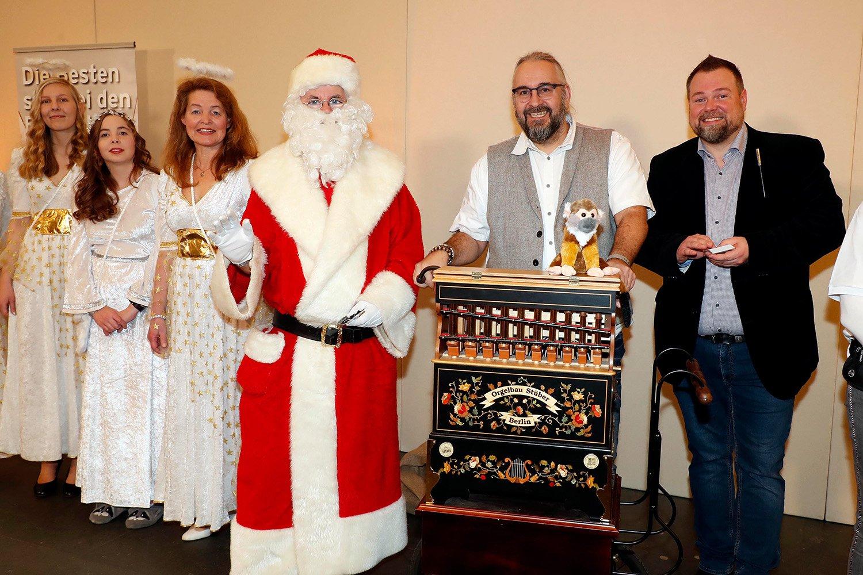 Weihnachtsfeier Frank Zander Weihnachtsmann