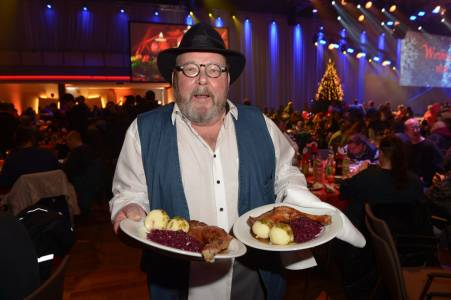 Frank Zanders 24. Weihnachtsfest für Obdachlose & Bedürftige im Estrel Hotel in Berlin am 21.12.2018