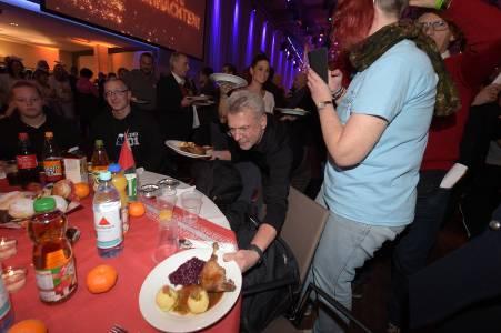 Frank Zanders 25. Weihnachtsfeier für Obdachlose & Bedürftige im Estrel Hotel in Berlin am 20.12.2019