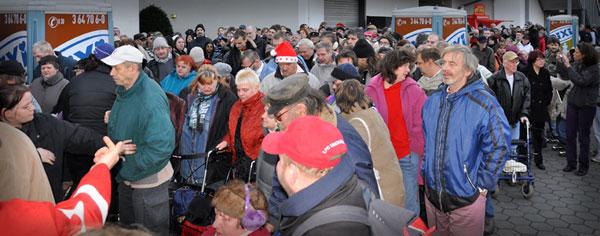 Weihnachtsfest 2011 - In diesem Jahr werden kostenlose Einlassbändchen verteilt