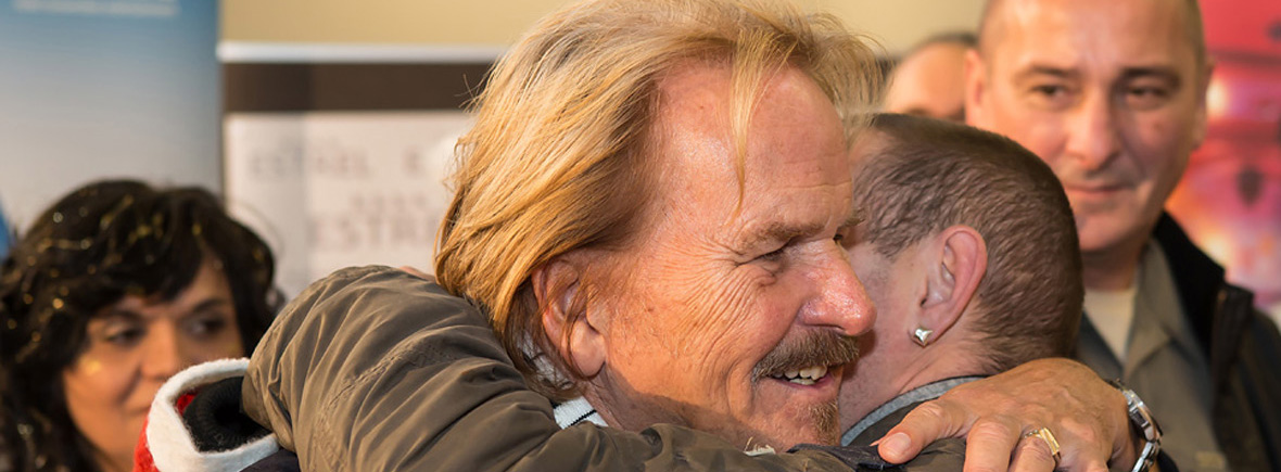 Weihnachten mit Frank Zander – Ein Fest für Obdachlose und Bedürftige