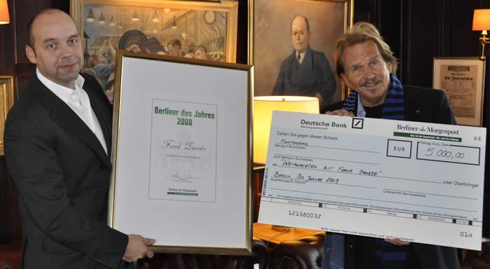 01.02.2009 - Frank Zander zu Gast im Axel Springer Haus