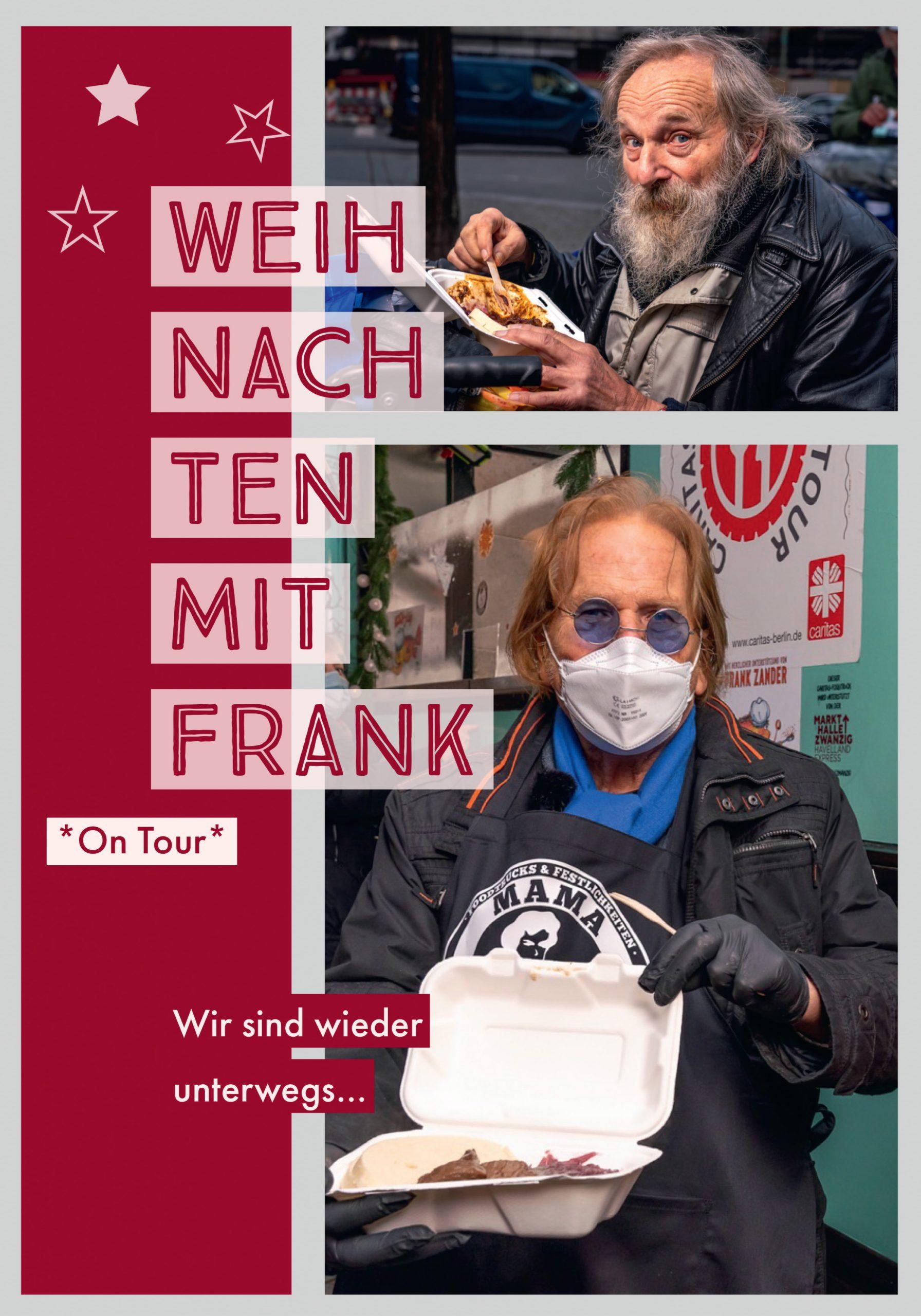 Auch dieses Jahr heißt es für uns wieder: Weihnachten mit Frank *On Tour*