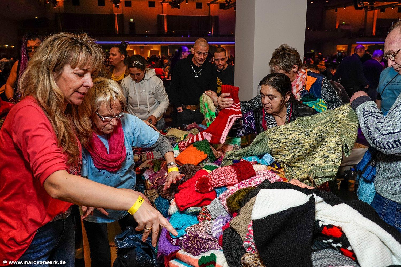 25. Weihnachtsfest für Obdachlose und Bedürftige, 2019