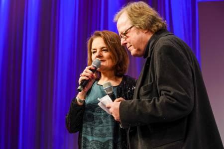 Das Moderatorenduo Britta Elm Und Ully Köhler