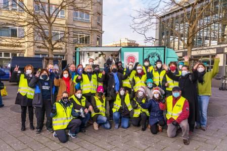 Weihnachtsfest für Obdachlose und Bedürftige 2020