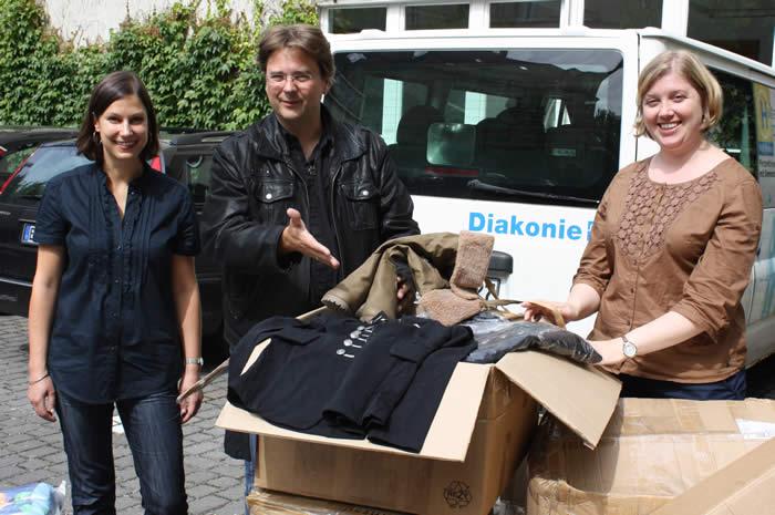 August 2012 - Vielen Dank an DPD Zeitfracht für die tolle Spende!