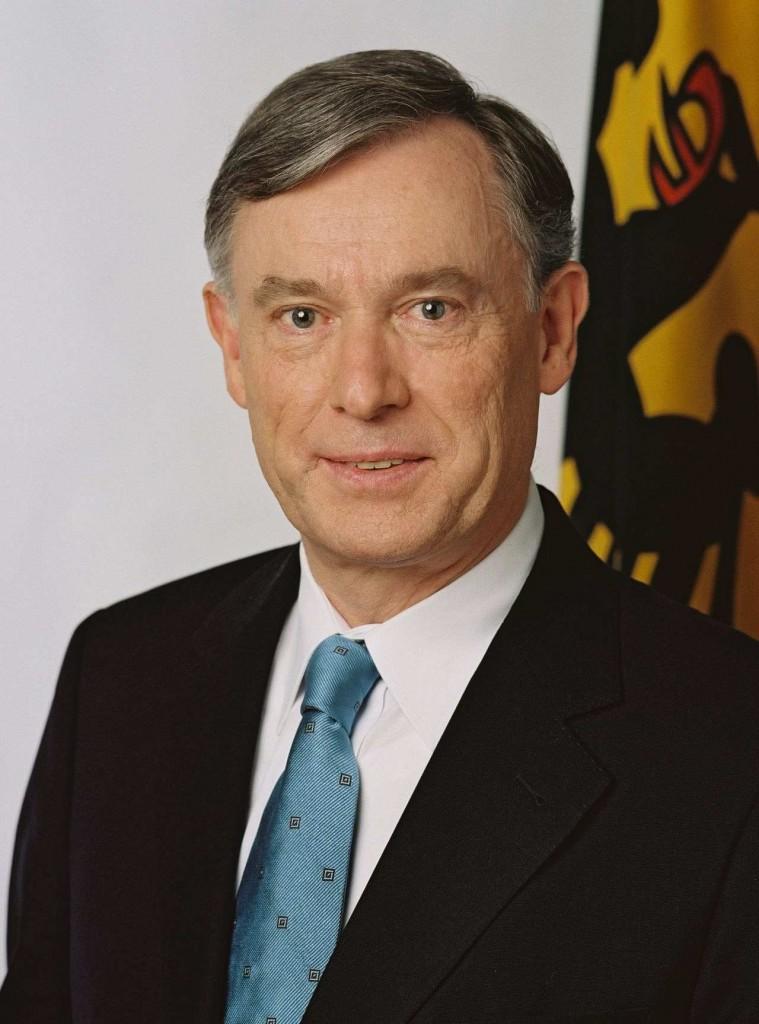2005 - Grußwort von Bundespräsident Horst Köhler für die Obdachlosenfeier